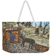 The Coal Mine Weekender Tote Bag
