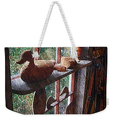 Workshop Window Weekender Tote Bag