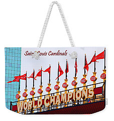 World Champions Flags Weekender Tote Bag