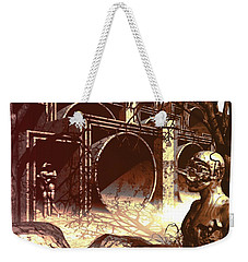 World Of Ruin Weekender Tote Bag by John Alexander