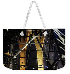 World Trade Center Museum At Night Weekender Tote Bag