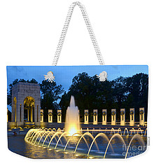 World War II Memorial Weekender Tote Bag