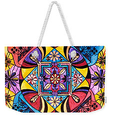 Worldly Abundance Weekender Tote Bag