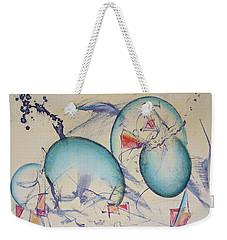 Worlds In Genesis Weekender Tote Bag