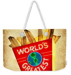 World's Greatest Fries Weekender Tote Bag