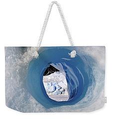 Wormhole 2 Weekender Tote Bag by Cathy Mahnke