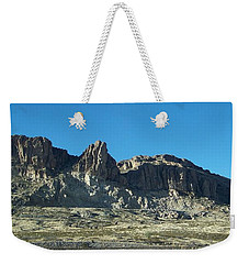 Weekender Tote Bag featuring the photograph Western Landscape by Eunice Miller
