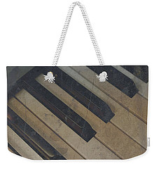 Worn Out Keys Weekender Tote Bag by Photographic Arts And Design Studio