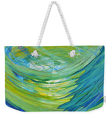 Weekender Tote Bag featuring the painting Worship by Cassie Sears
