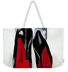 Worth A Million Weekender Tote Bag by Rebecca Jenkins