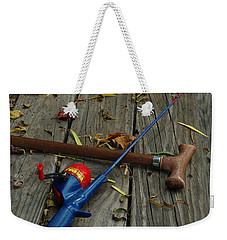 Weekender Tote Bag featuring the photograph Wrapped In Time by Peter Piatt