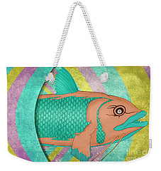 Wreckfish Weekender Tote Bag by Bruce Stanfield