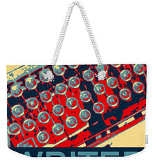 Writer Weekender Tote Bag by Karyn Robinson