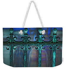 Wrought Iron Weekender Tote Bag by Rowana Ray