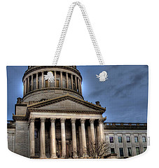 Wv Capital Building 2 Weekender Tote Bag by Jonny D