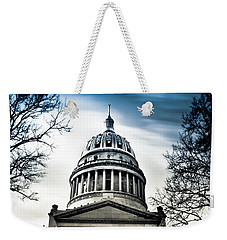 Wv State Capitol Building Weekender Tote Bag by Shane Holsclaw