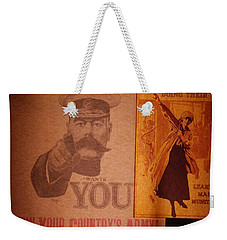 Ww1 Recruitment Posters Weekender Tote Bag