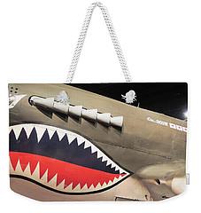 Wwii Shark Weekender Tote Bag