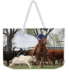 Wyoming Branding Weekender Tote Bag