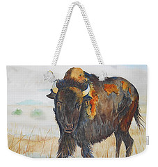 Wyoming - King Of The Prairie Weekender Tote Bag