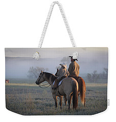 Wyoming Ranch Weekender Tote Bag