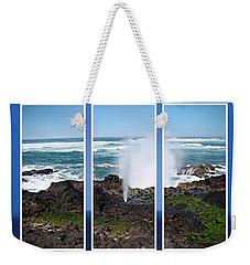 Yachats Bay Oregon Weekender Tote Bag
