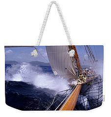 Yacht Race, Caribbean Weekender Tote Bag