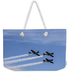 Yak 52 Tw By Three Weekender Tote Bag by CJ Schmit