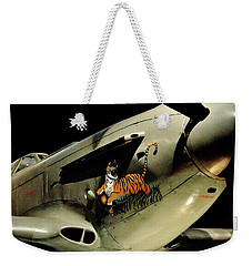 Yak 9 Tiger Weekender Tote Bag by Benjamin Yeager