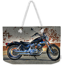 Yamaha Virago 01 Weekender Tote Bag by Andy Lawless