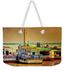 Yangon Harbour Weekender Tote Bag by Wallaroo Images