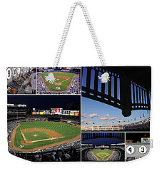 Yankee Stadium Collage Weekender Tote Bag
