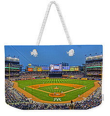 Yankee Stadium Weekender Tote Bag by Jeffrey Friedkin