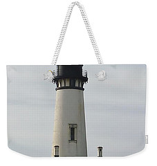 Weekender Tote Bag featuring the photograph Yaquina Bay Lighthouse by Susan Garren