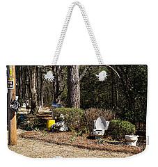 Yard Art Hwy 21 South Weekender Tote Bag