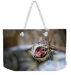Yawn Weekender Tote Bag