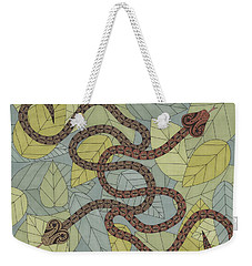 Year Of The Snake Weekender Tote Bag