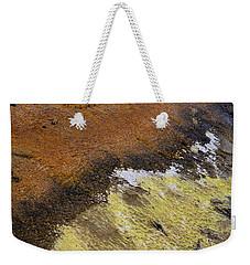 Yellow And Orange Converging Weekender Tote Bag
