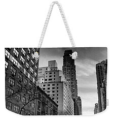 Yellow Cab One - New York City Street Scene Weekender Tote Bag
