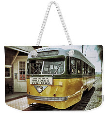 Yellow Car - Los Angeles Weekender Tote Bag