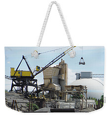 Yellow Crane Weekender Tote Bag