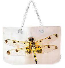 Yellow Dragonfly Pantala Flavescens Weekender Tote Bag
