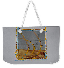 Yellow Droplets Weekender Tote Bag