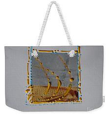 Yellow Droplets Weekender Tote Bag