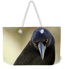 Yellow Eyes Weekender Tote Bag by Miroslava Jurcik