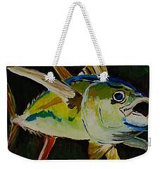 Yellow Fin Tuna Weekender Tote Bag