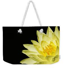 Yellow Flames Weekender Tote Bag by Rebecca Cozart