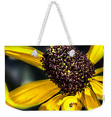 Yellow Flower Weekender Tote Bag