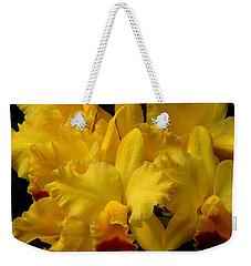 Yellow Folds Weekender Tote Bag