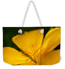 Yellow Weekender Tote Bag by Greg Allore